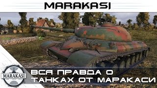 Вся правда о танках от маракаси World of Tanks