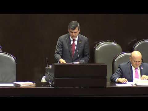 Dip. Miguel Ángel González Salum, intervención en tribuna