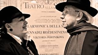 """Busoni """"Piano Concerto op 39"""" Victoria Postnikova"""
