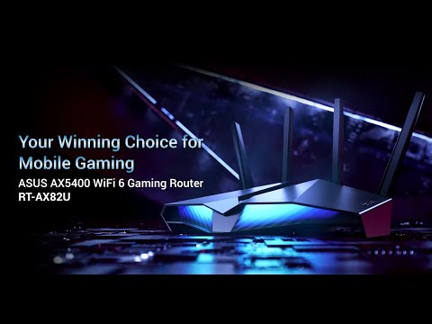 Your Winning Choice For Mobile Gaming - RT-AX82U | ASUS