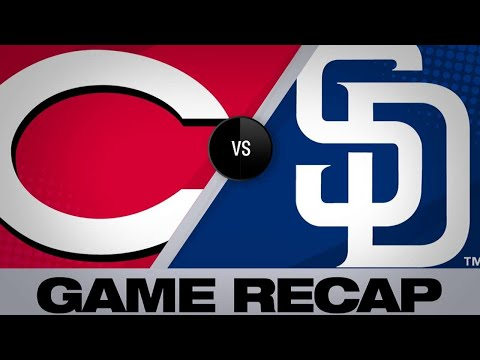 4/20/19: Castillo, Winker lead Reds past Padres, 4-2