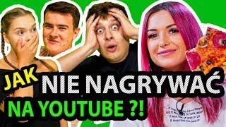 Jak NIE nagrywać na YOUTUBE  ft. Wersow, Max Krasoń, Kiślu