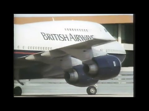 1990 - 'Jet Jockeys' | Inside British Airways (Boeing 747-200 flight)
