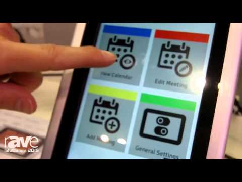 InfoComm 2015: GoGet Demonstrates the Room Display 4 in the Innovation Showcase