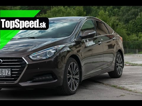 Test Hyundai i40 Premium 1.7CRDi (140 k) TopSpeed.sk