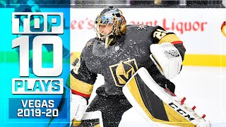 Top 10 Golden Knights Plays of 2019-20 ... Thus Far | NHL