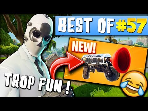 BEAUCOUP TROP FORTE LA NOUVELLE ARME 😱🔥 ► BEST OF FORTNITE FRANCE #57