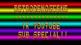 retrodemoscene 1k youtube subscriber special
