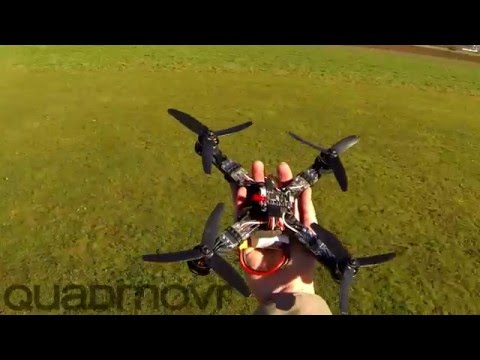 Remember that guy that made an insanely fast quadcopter ? Well he's back now with an improved version !