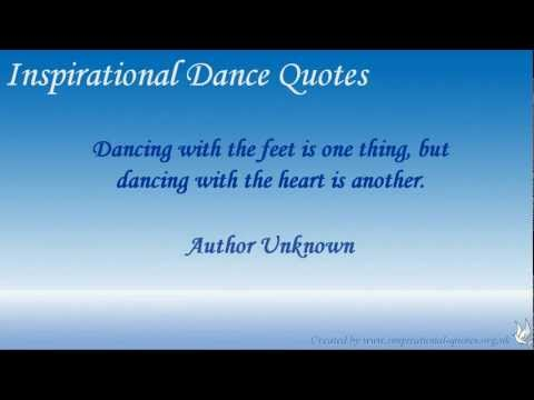 Inspirational Dance Quotes