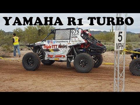 Polaris Rzr XPT with Turbo Yamaha R1 conversion