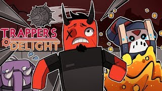THE COMEBACK CHALLENGE! | Trapper's Delight (w/ H2O Delirious & Gorillaphent)