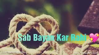 Raaz Aankhein teri lyrics. WhatsApp Status