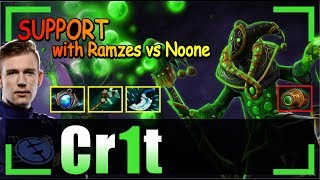 Crit - Rubick Offlane | SUPPORT with Ramzes | vs Noone + Save | Dota 2 Pro MMR Gameplay #18