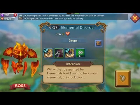 Lords Mobile Normal 6-17