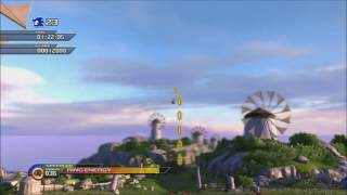 Sonic Unleashed Apotos Act1-2 Speedrun 01:54:65