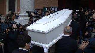 Funerali Silvana Pampanini, pochi colleghi ma tanti amici per l'ultimo saluto