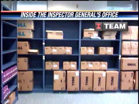 Unused Equipment At Inspector General's Office