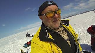 Ice Fishing 2018 - Yellow Jacket 3 - Wisconsin, USA