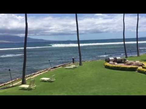 Maalaea Kai Maui Condo For Rent - Oceanfront View From Lanai
