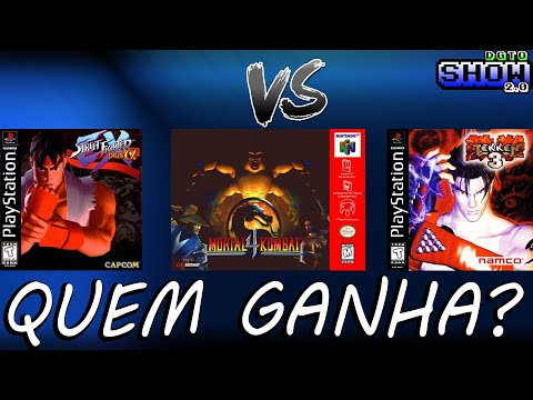 Tekken 3 Ps1 Vs Mortal Kombat 4 N64 Vs Street Fighter Ex Plus
