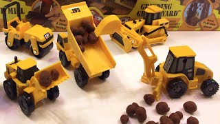 Play Doh Play & Mini Machines Caterpillar Construction Toys 5 piece Set Mighty Machines in Action