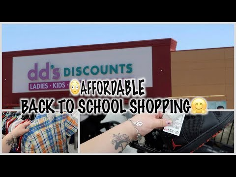 BACK TO SCHOOL CLOTHES SHOPPING FT DD'S DISCOUNT + SAMS⎮ VLOG