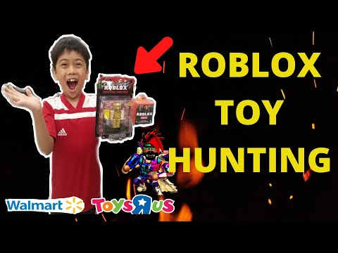 ROBLOX TOY HUNTING AT TOYS R US & WALMART