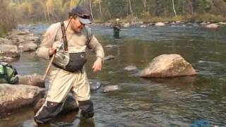 Спиннинговые приманки для быстрой реки