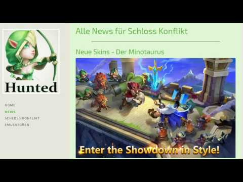 CC #148 Neue Skins By Hunted Castle Clash | Schloss Konflikt