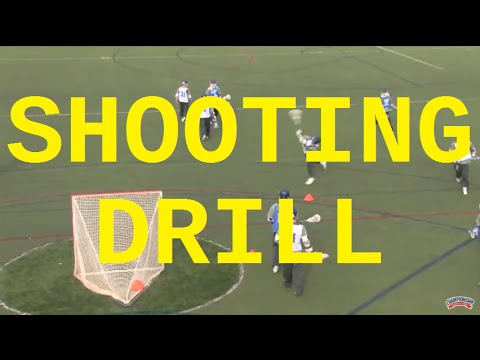 """Learn the """"Up the Hash"""" Shooting Drill! - Lacrosse 2016 #29"""