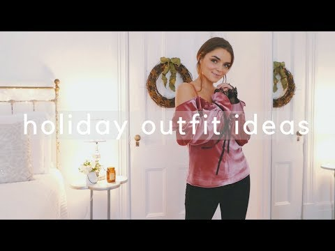 HOLIDAY OUTFIT IDEAS! ⭐️❤️