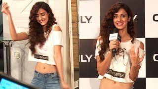 CUTE Disha Patani Launches Only For Bieber Collection Full Video HD