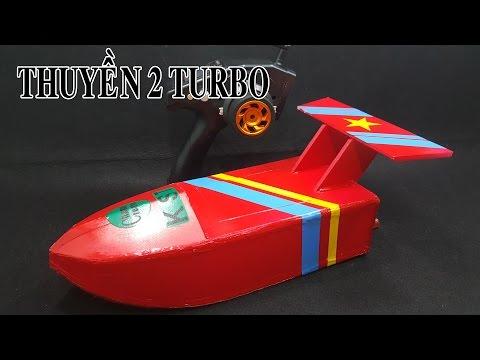 Chế Thuyền 2 Động Cơ Turbo Jet  - Twin Jet Boat