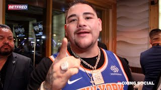 ANDY RUIZ SENDS FINAL WARNING TO ANTHONY JOSHUA AHEAD OF HUGE HEAVYWEIGHT TITLE REMATCH