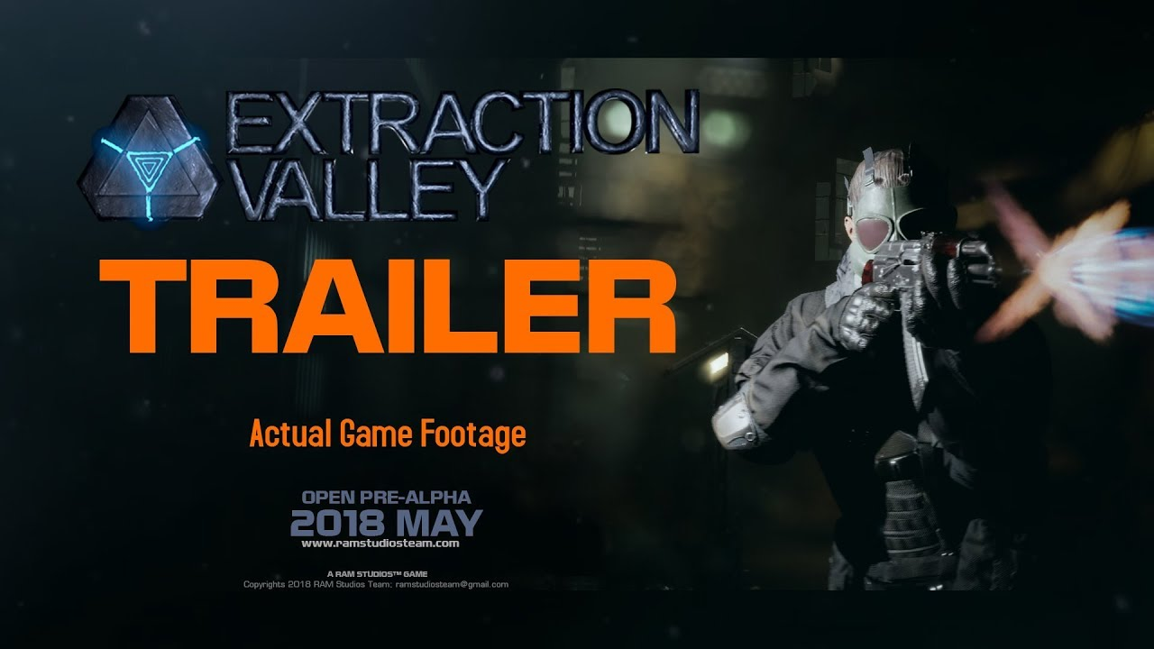 Extraction Valley Official Open Pre Alpha Game Play Trailer Youtube