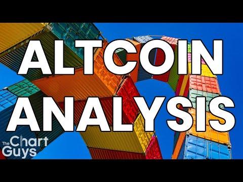 Bitcoin Ethereum Litecoin + ALTS Technical Analysis Chart 5/19/2019 by ChartGuys.com