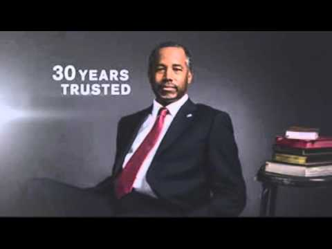 """""""WE CAN TRUST BEN CARSON"""""""