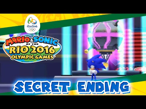 Mario & Sonic at the Rio 2016 Olympic Games [3DS] - Road to Rio: Secret Sonic Story