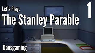 Let's Play The Stanley Parable - Part 1 - Dansgaming - Gameplay / Walkthrough - PC HD