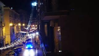 Molfetta. L'intervento dei vigili del fuoco e di un'ambulanza per soccorrere due anziani