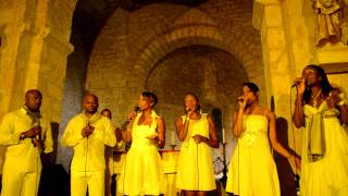 "West Indies Gospel ""Smile"" en concert à Payrignac Festival ""Happy Days Gospel"""