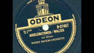 Wiener Bohéme-Orchester - Accelerationen Walzer