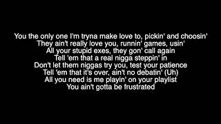 Chris Brown - No Guidance ft. Drake lyrics