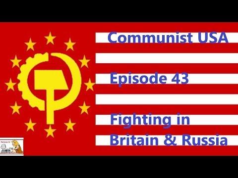 Hoi4 – WW1 MOD – Communist USA – Episode 43 – Fighting in Britain & Russia