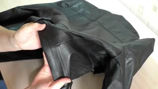 видео Как разгладить кожзам (искусственную кожу, дермантин)
