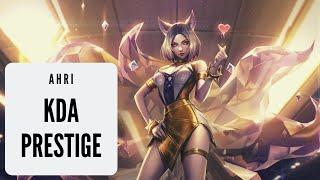 Ahri KDA Prestige Edition Gameplay | Ahri Mid - It's worth?