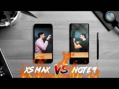 iPhone XS Max vs Galaxy Note 9 // The iPhone Wins!?