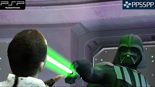 Star Wars: The Force Unleashed - PSP Gameplay 1080p (PPSSPP)