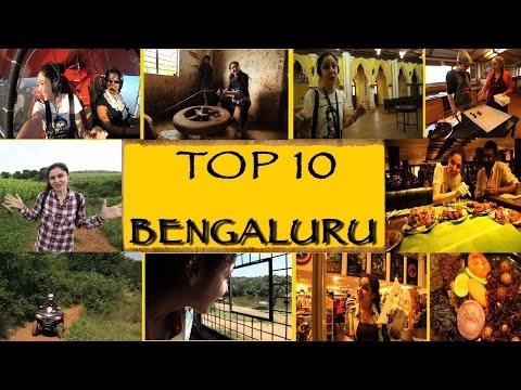 TOP 10 Things To See/Do || Bengaluru